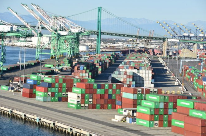 U.S. imports from China surge because people stay at home