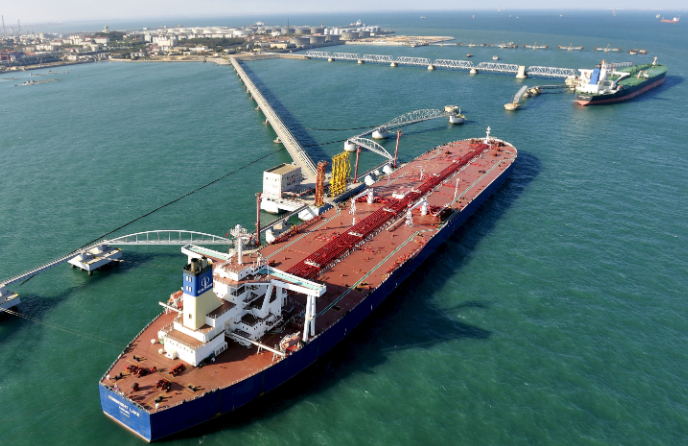 China's imports of Iranian oil hit a record high in March