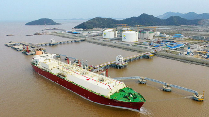 From March 22nd to 28th, China's LNG imports were about 1.42 million tons