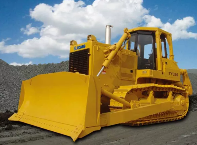 8 TY320 bulldozers are exported overseas in batches