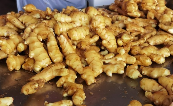 Ginger exports from January to February 2021