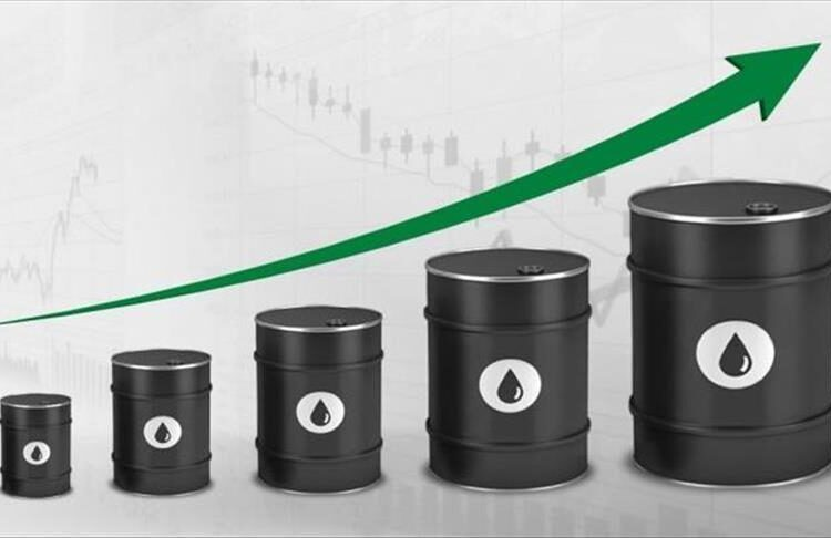 International oil prices have risen by more than 85% in one year